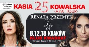 KONCERT: Kasia Kowalska i Renata Przemyk już 8 grudnia w Krakowie