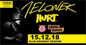 KONCERT: Jelonek, Hurt, Świnka Halinka - Kraków