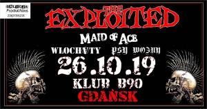 Bilety na październikowy koncert The Exploited już w sprzedaży!